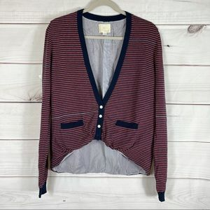 Boy By Band Of Outsiders Striped Cardigan